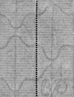 Horizontal laid paper