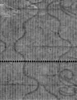 Vertical laid watermark